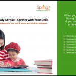 1 Dollar Study Abroad with Your Child Promotion